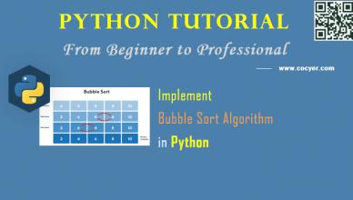 Python - Implement Bubble Sort Algorithm - A Step Guide