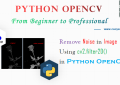 Python OpenCV - Remove Noise from an Image Using cv2.filter2D()