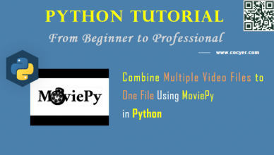 Python Video Processing: Combine Multiple Video Files to One File Using MoviePy