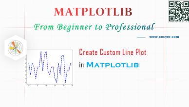 Matplotlib - Create Custom Line Plot - A Full Guide for Beginners