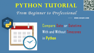 Python: Compare Date or Datetime With and Without Timezones