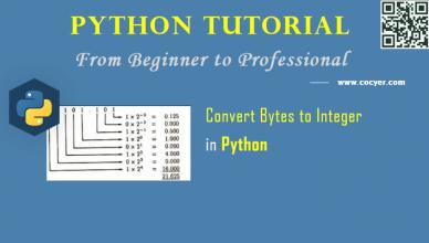 Python: Convert Bytes to Integer in Python 3.x - A Beginner Guide