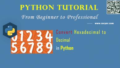 Python: Convert Hexadecimal to Decimal