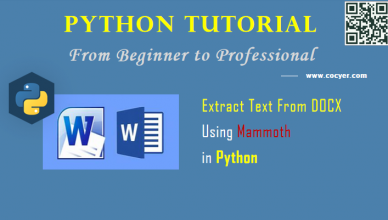Python File Processing: Extract Text From DOCX Using Mammoth