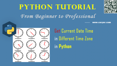 Python - Get Current Date Time in Different Time Zone