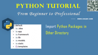 Python: Import Python Packages in Other Directory