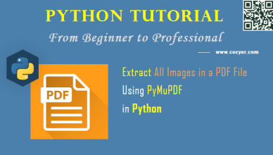 Python PDF Processing: Extract All Images in PDF File Using PyMuPDF