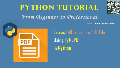 Python PDF Processing - Extract All Links in PDF File Using PyMuPDF