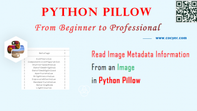 Python Pillow - Read Image Metadata Information From an Image - A Step Guide
