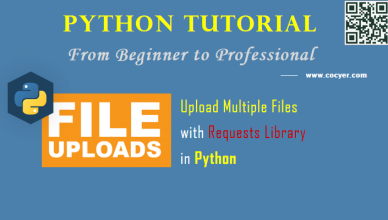 Python: Upload Multiple Files with Requests Library - A Beginner Example