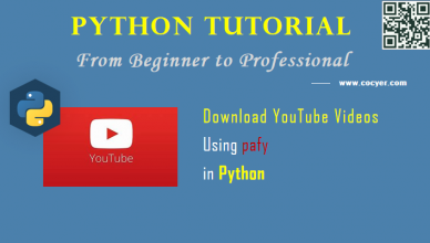 Python Video Processing: Download YouTube Videos Using pafy